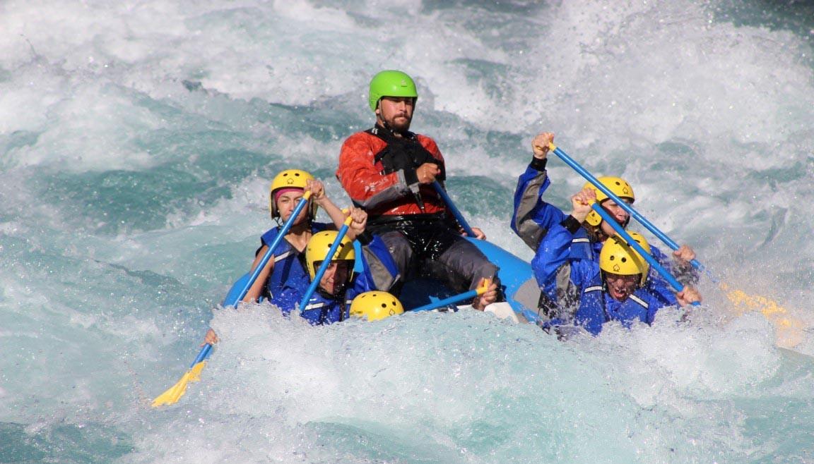 Rafting río San Pedro excursiones tours Valdivia